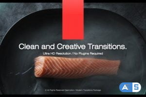 Videohive Clean and Creative Transitions 33569162