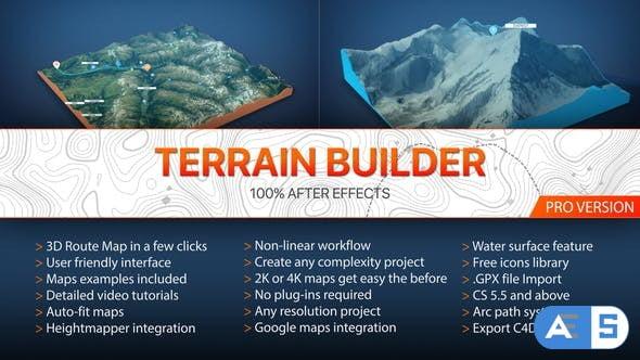 Videohive Terrain Builder Pro V2 20788566