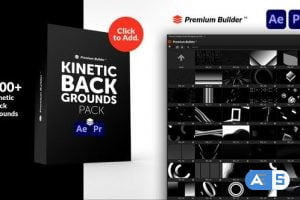 Videohive Kinetic Backgrounds Pack 32854609