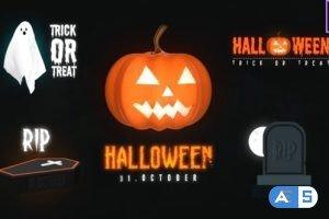 Videohive Halloween Spooky Titles 33590267