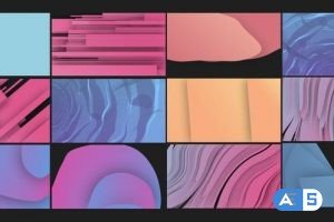 Videohive Trendy Shape Transitions 33545679