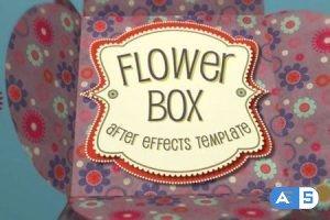 Videohive Flower Box Display 5948975