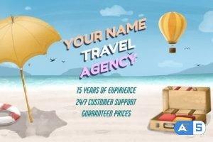 Videohive Travel Agency Promo 33590196