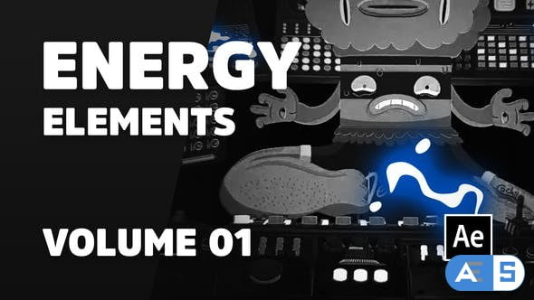 Videohive Energy Elements Volume 01 [Ae] 31942309