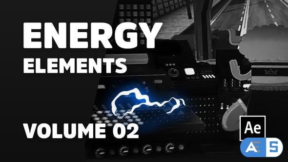 Videohive Energy Elements Volume 02 [Ae] 32068295