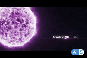 Videohive Space Stars Titles 15735814