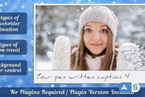 Videohive Snow Photo Reveal 10194776