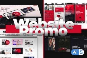 Videohive Flex Website Promo 29645808