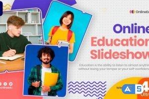 Videohive Online Education Slideshow (MOGRT) 33734978