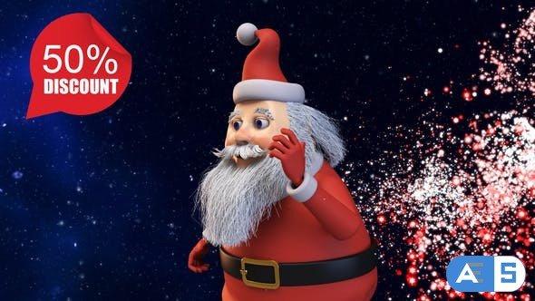 Videohive Happy Christmas v1 & Phone Version 22879872