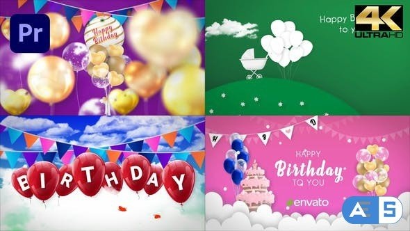 Videohive Happy Birthday Opener | Mogrt 33727399
