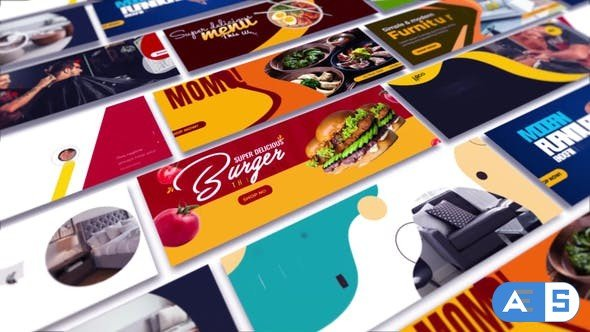 Videohive Facebook Cover Animated B152 33918240