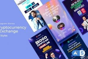 Videohive Cryptocurrency & Exchange Instagram Stories 33677264