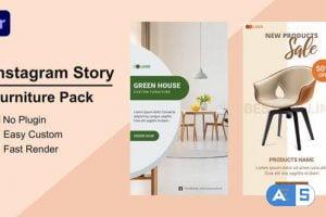 Videohive – Furniture Instagram Story Mogrt 09 – 33635617