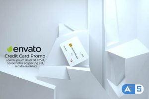 Videohive Creedits Card Mock-Up 33683836