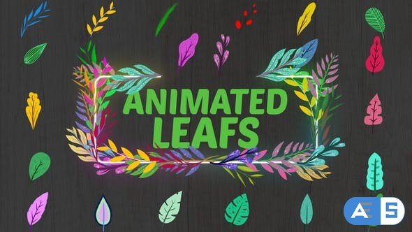 Videohive Animated Leafs || After Effects 33850931