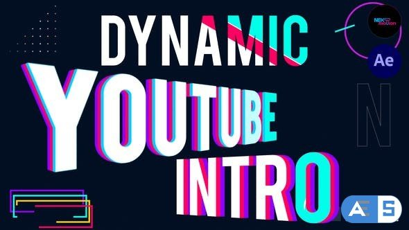 Videohive Dynamic YouTube Intro 33737969