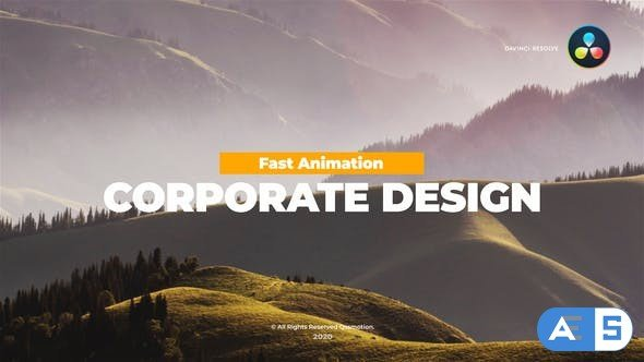 Videohive – Corporate Titles Pack For DaVinci Resolve – 33660028