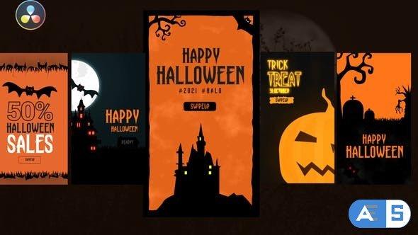 Videohive – Halloween Instagram Stories – 33683017