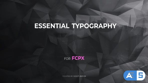 Videohive – Essential Typography for FCPX – 26506735
