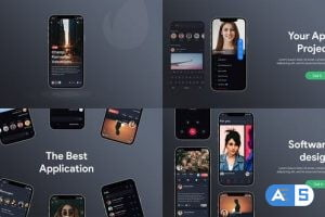 Videohive Mobile App Promotion B146 33880376