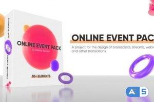 Videohive Online Event Pack / Webinar / Online Conference 27552598