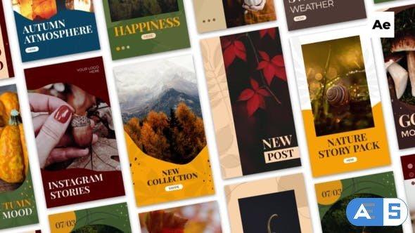 Videohive Autumn Instagram Stories 33899657