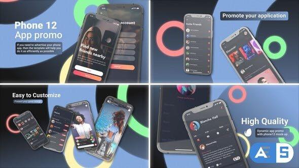 Videohive App Presentation Phone 12 33959235