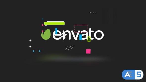 Videohive Clean Glitch Logo 20578267