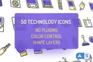 Videohive Technology Icons 20376029