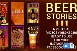 Videohive Six Beer Stories 33776081