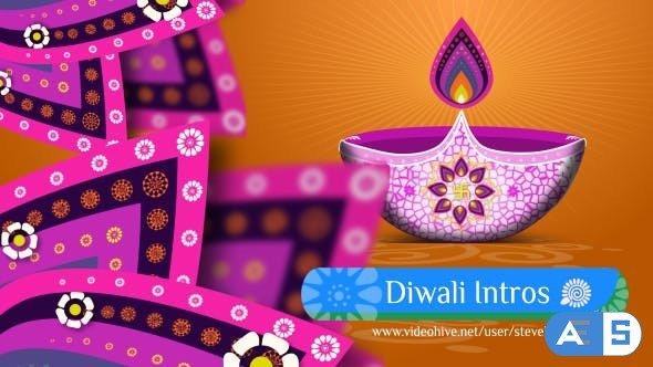 Videohive Diwali Intros / Broadcast Pack 20687739