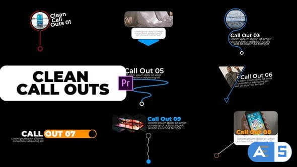 Videohive Clean Call Outs 33801664