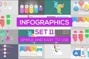 Videohive Infographics Set 11 24981486