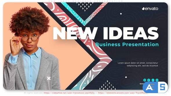 Videohive New Ideas Business Presentation 33877809