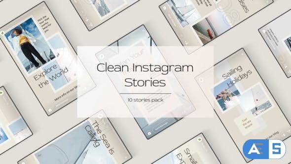 Videohive Clean Instagram Stories 28301087