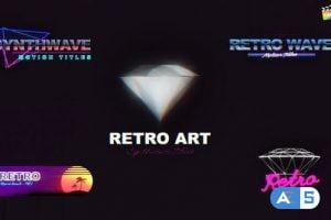 Videohive Retro 80s Titles 33718550