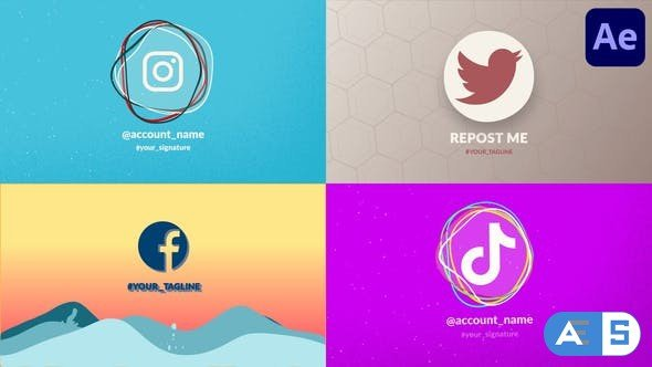 Videohive Splash Logo Pack | After Effects 33915325