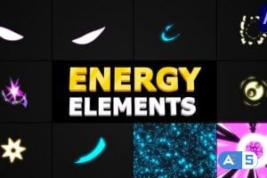 Videohive Energy Elements | After Effects 33670162