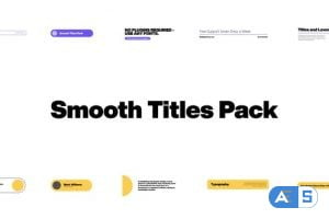 Videohive Smooth Titles Pack 33866612