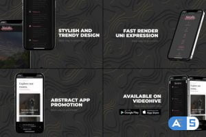 Videohive Abstract App Promo 33951514
