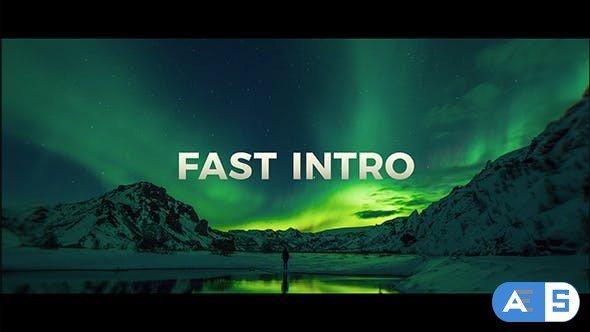Videohive Fast Intro 21363903