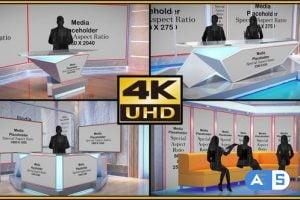 Videohive Virtual Studio Set – S05 33778106