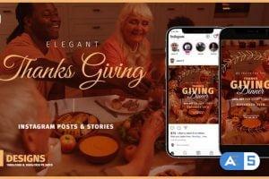 Videohive Thanksgiving Day Instagram Promo B136 33828214