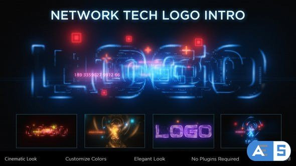 Videohive Network Tech Logo Reveal 33907084