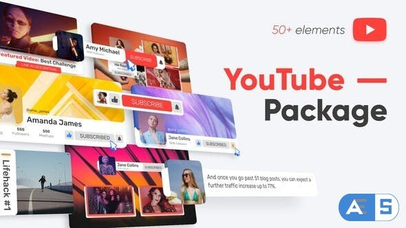 Videohive YouTube Package 33137931