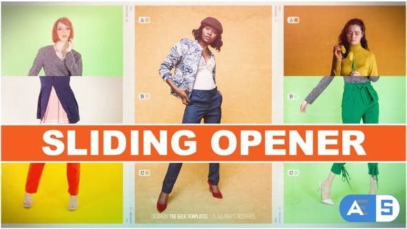 Videohive Sliding Opener 31091879