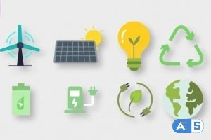 Videohive Ecology Animated Icons 33790669
