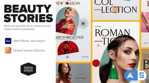 Videohive Vertical Fashion Apparel Beauty Stories 33920196