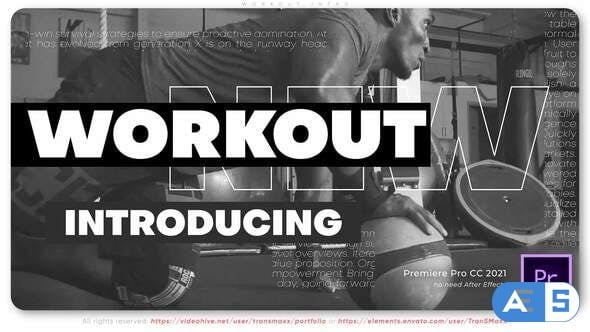 Videohive Workout Intro 33715350